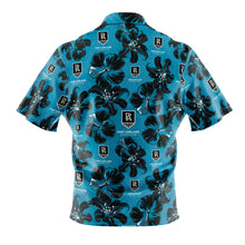 AFL Port Adelaide 'Floral' Hawaiian Shirt