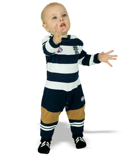 AFL Geelong Cats Baby Footysuit
