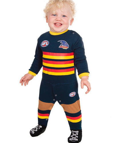 AFL Adelaide Crows Baby Footysuit