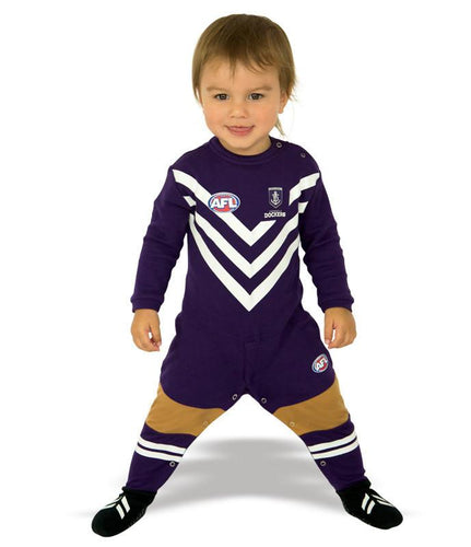 AFL Fremantle Dockers Baby Footysuit