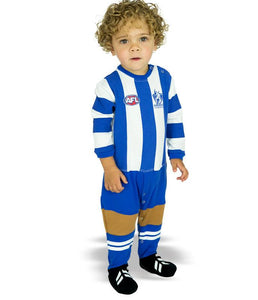 AFL North Melbourne Baby Footysuit