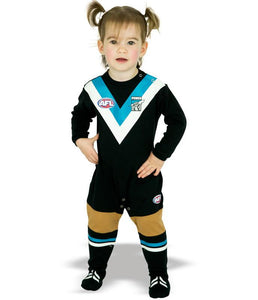 AFL Port Adelaide Baby Footysuit