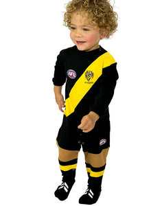AFL Richmond Tigers Baby Footysuit