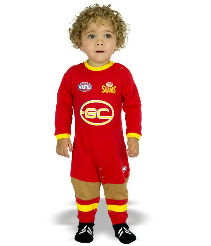 AFL Gold Coast Suns Baby Footysuit