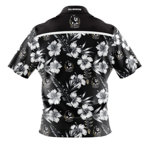 Collingwood Magpies Hawaiian Shirt Back