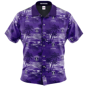 Fremantle Dockers Hawaiian Shirt Front