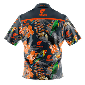GWS Giants Hawaiian Shirt Back
