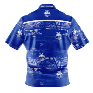 North Melbourne Kangaroos Hawaiian Shirt Back