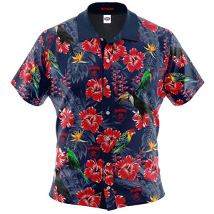 Melbourne Demons Hawaiian Shirt Front