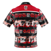 St Kilda Hawaiian Shirt Back