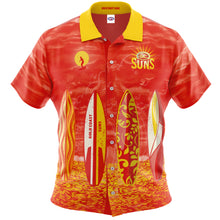 Gold Coast Suns Hawaiian Shirt Front