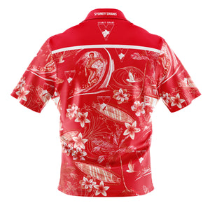 Sydney Swans Hawaiian Shirt Back