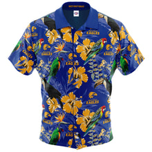 West Coast Eagles Hawaiian Shirt Front