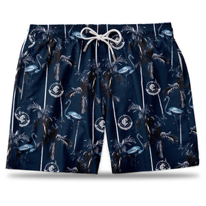 AFL Calton Blues Hawaiian Shorts