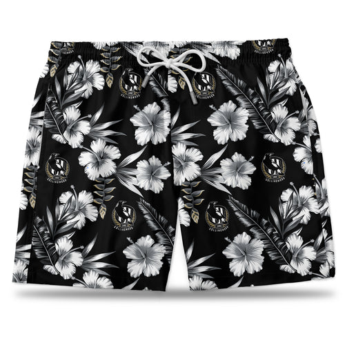 AFL Collingwood Magpies Hawaiian Shorts