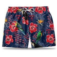 AFL Melbourne Demons Hawaiian Shorts