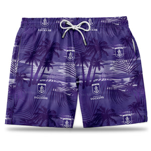 AFL Fremantle Dockers Hawaiian Shorts