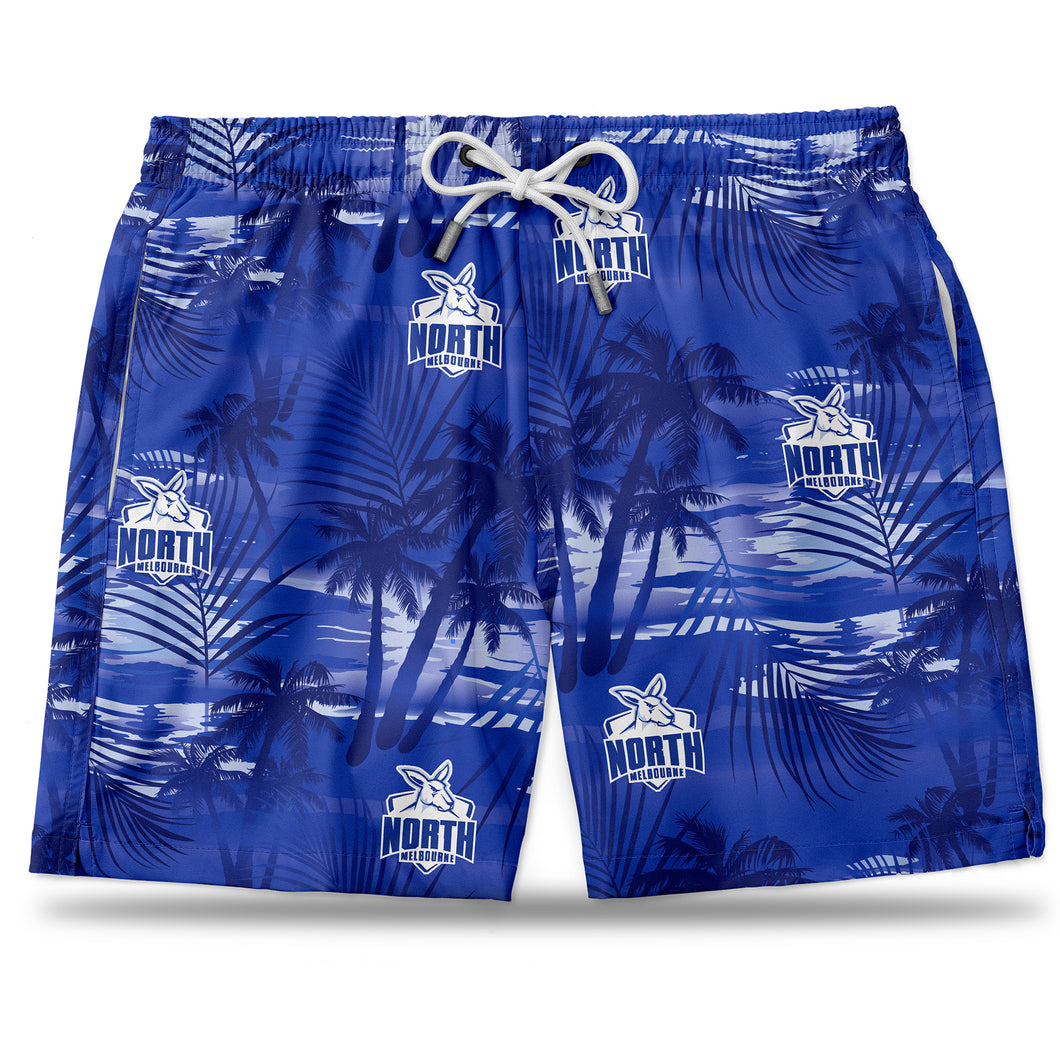 AFL North Melbourne Hawaiian Shorts