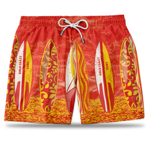 AFL Gold Coast Suns Hawaiian Shorts