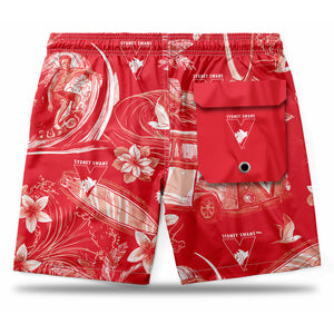 AFL Sydney Swans Hawaiian Shorts
