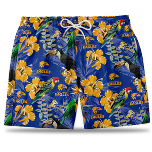 AFL West Coast Eagles Hawaiian Shorts