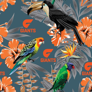 AFL GWS Giants Hawaiian Shirt