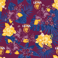 AFL Brisbane Lions Hawaiian Shirt