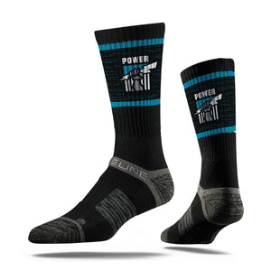 Port Adelaide Power Premium Crew Team Socks