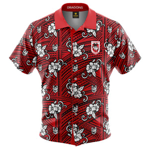 NRL Dragons Tribal Shirt