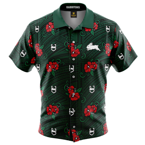 NRL Rabbitohs Tribal Shirt