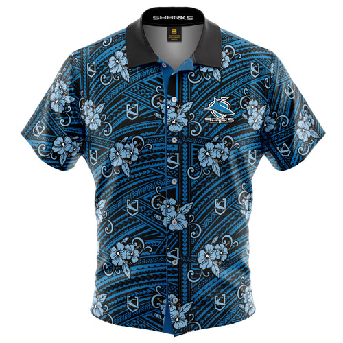 NRL Sharks Tribal Shirt