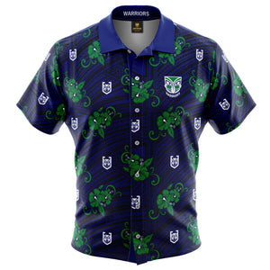 NRL Warriors Tribal Shirt