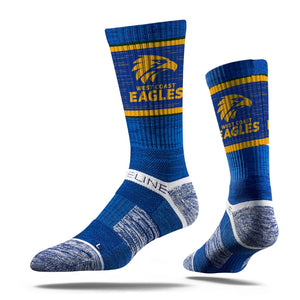 West Coast Eagles Premium Crew Team Socks