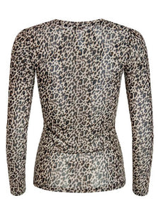 Leopard Bluse