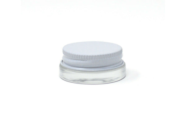 Glass Jar, 7ml Low-Profile [10 PACK]