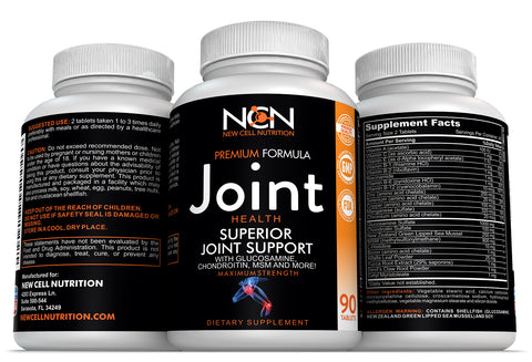 Superior Joint Support with Glucosamine, Chondroitin, MSM-90 ct