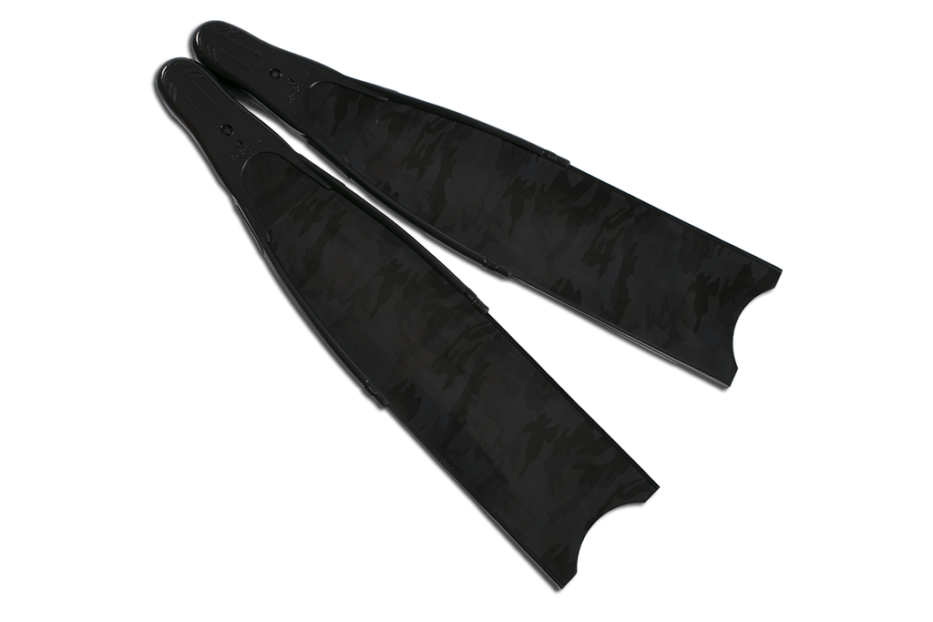 Leaderfins - Stereofins Camouflage Carbon Complete Fins - speardeals