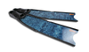 Leaderfins - Stereofins Blue Camo Complete Fins - speardeals