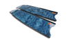 Leaderfins - Stereofins Blue Camo BLADES ONLY - speardeals