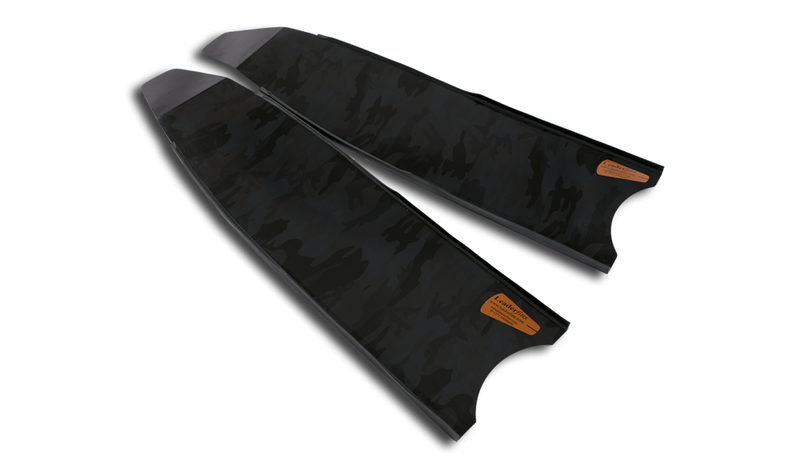 Leaderfins - Stereofins Camouflage Carbon BLADES ONLY - speardeals