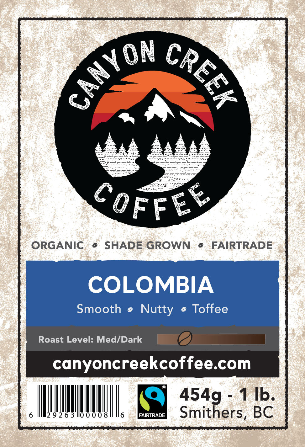 Colombia Organic Coffee