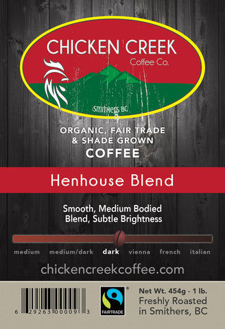 Henhouse Blend Organic Coffee