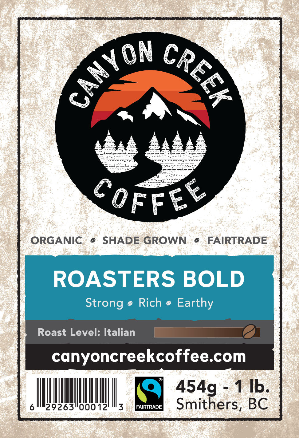 Roasters Bold Organic Coffee