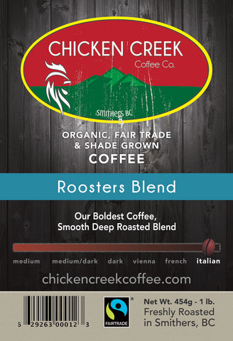 Roosters Blend Organic Coffee
