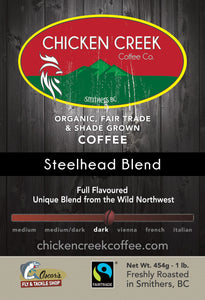 Steelhead Blend Organic Coffee