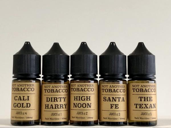 New Year, New Not Another Tobacco flavours!