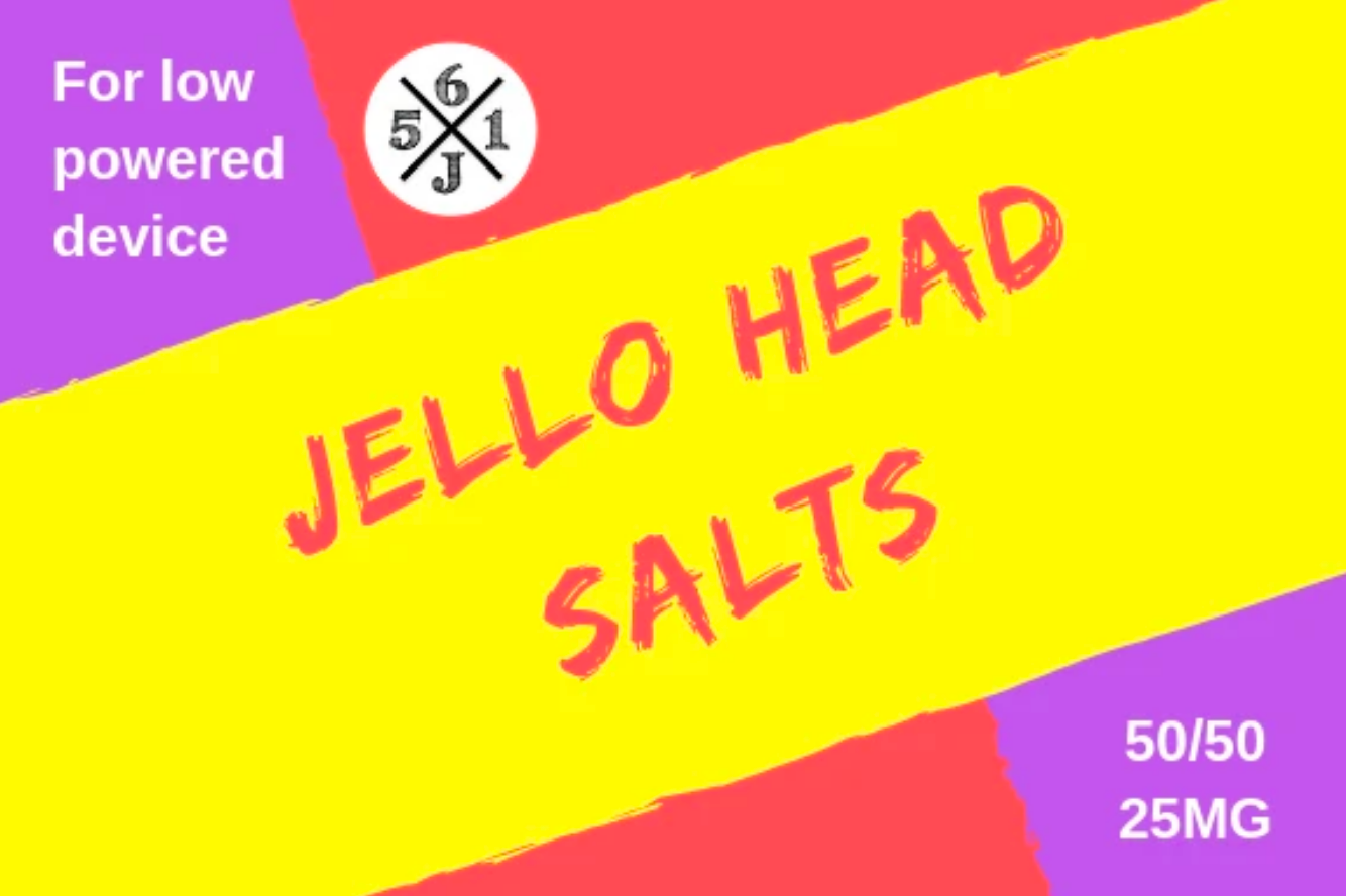 Jello Head by 561 Juices Salt - Wick And Wire Co Nicotine Eliquid New Zealand