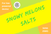Snowy Melons by 561 Juices Salt