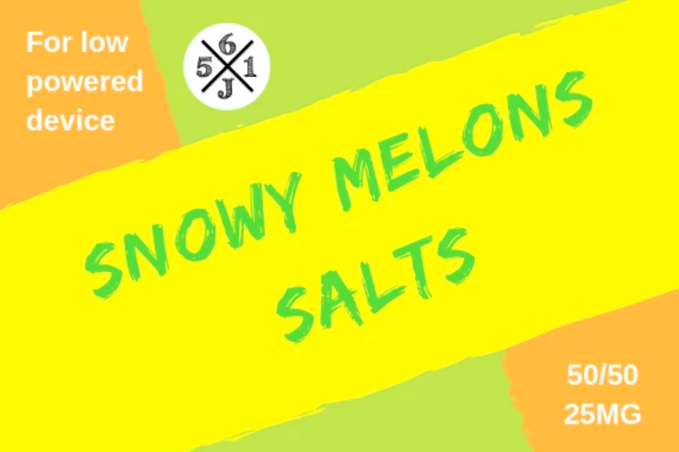 Snowy Melons by 561 Juices Salt - Wick And Wire Co Nicotine Eliquid New Zealand