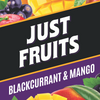 Blackcurrant & Mango by Just Fruits - Wick And Wire Co Nicotine Eliquid New Zealand